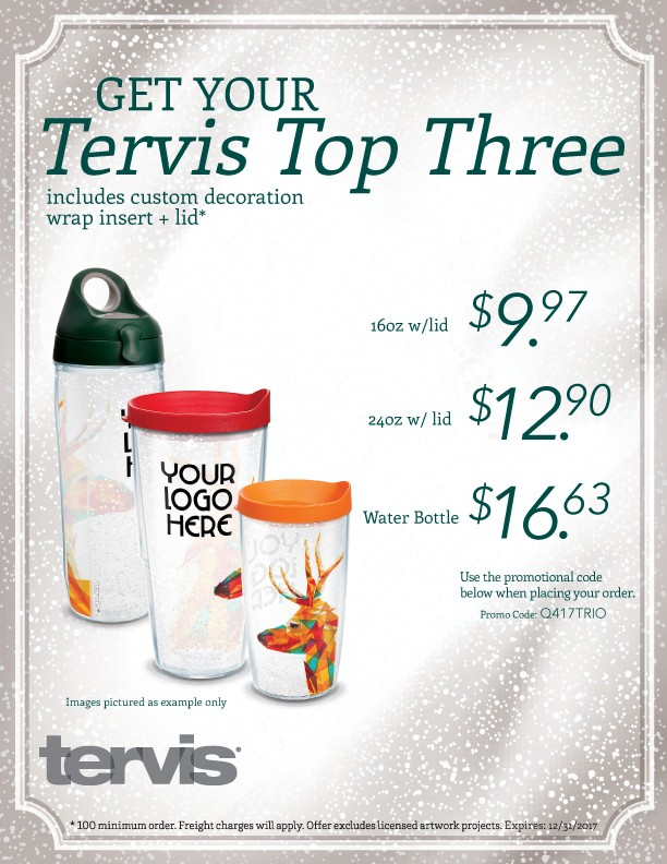Tervis Top Three